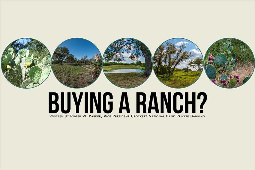 Buying A Ranch?