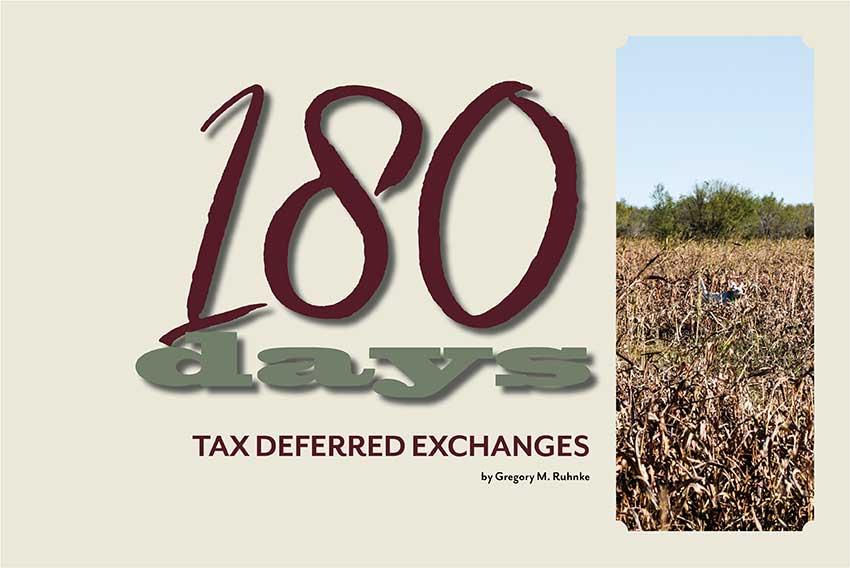 Tax Deferred Exchanges