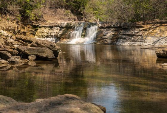 Roxton's Waterfall Ranch 860 Acre Ranch Lamar County Image 4